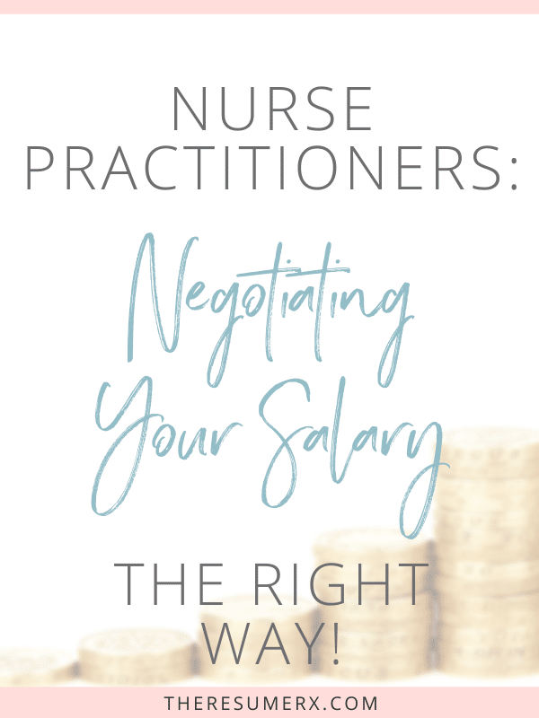 [VIDEO] You CAN Negotiate Your Nurse Practitioner Salary!