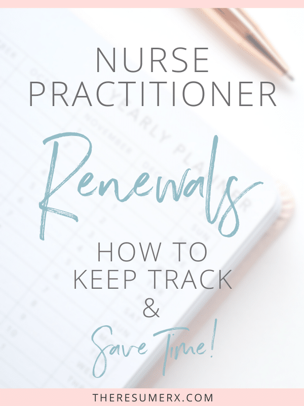 [VIDEO] How to Keep Track of Your Nurse Practitioner Renewals