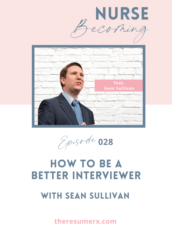 #028 How to Be a Better Interviewer with Improv Actor Sean Sullivan
