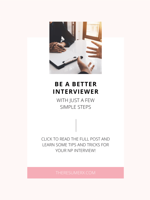 Be a better interviewer with just a few simple steps