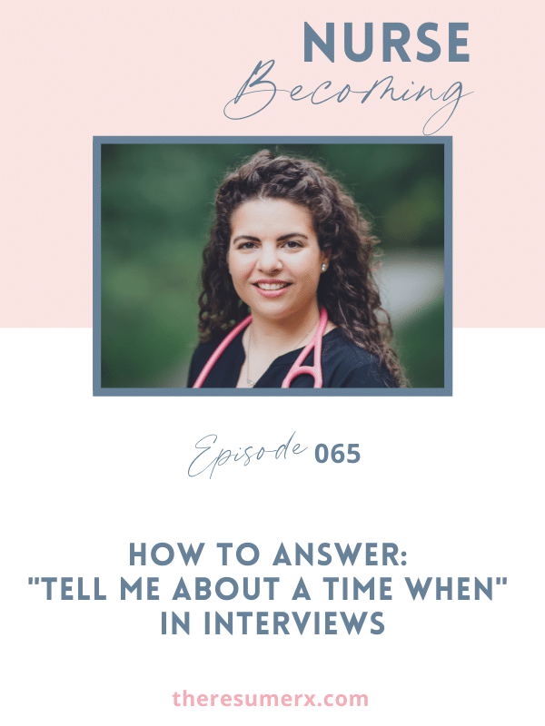 """#065 How to Answer: """"Tell me about a time when…"""" in interviews"""